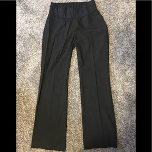 Gap Maternity Dark Gray Dress Pants Size 4 Regular